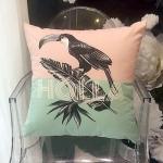 Holla bird cushion