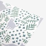Fabric sticker - 105 Cat`s garden : cat`s garden