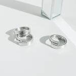 Cruzar Ring × Lettering(4mm)