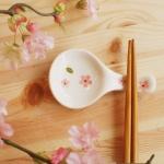 벚꽃시리즈~스푼모양 수저받침