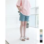 Pale Tone Linen 1/2 Pants(XL사이즈 5/10예약발송)