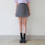 Simple skirt pants