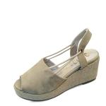 Side string strap 7cm wedge sandals_KM16s245