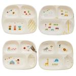 어린이 패턴 도자기식판