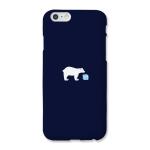 [봉봉] 북극곰 네이비 하드케이스 (B-1968)_(1835586)