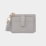 [태슬증정][살랑]Dijon 301S Flap mini Card Wallet light grey