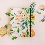 2017 Jardin de paris Covered Spiral Planner