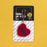 RUBBER KEY HOLDER_HEART