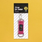 STRAP KEY HOLDER_PINK_WTG