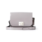 Patent Oily Slate Small Pixie Bag