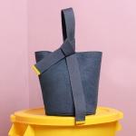 knot pot bag grey