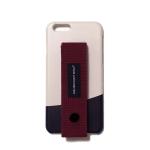 행온 핸드폰케이스 H24 (버건디) 핑크베이지+블랙(라운드)