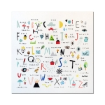Multi alphabet Artwork