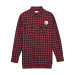 [Tea Please] Check Shirts(Red)_(454129)