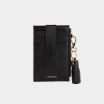 [태슬증정][살랑]Dijon 201S Flap mini Card Wallet black