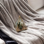 오로라 극세사 담요(2 size)-그레이.