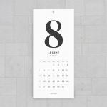 2019 CLASSIC WALL CALENDAR - Medium