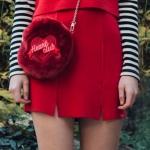 Heart Slit Skirt (3colors)