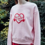 Heart Boucle Sweat Shirt (3colors)