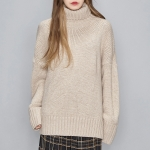 lambswool loose fit polar knit (5 colors)_(472154)