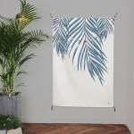 초대형 보테니컬 태피스트리 / 식물 패브릭 포스터