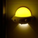 UFO 우주선 LED 동작감지 센서등