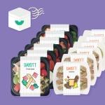 두끼식단 샐러드&샌드위치 도시락 정기배송 프로그램