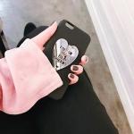 하트미러 핑거링 매트 핸드폰 케이스 iPhone6,6+,7,7+