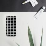 펜슬체크 그래픽 유광무광 핸드폰케이스
