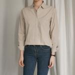 스프링 베이직 코튼 셔츠 (6-COLORS)