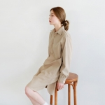Daily cotton shirts one-piece