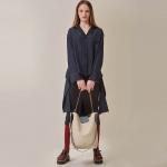 [STELLA7] Color Mixed Shoulder Bag(Ivory)_(515194)