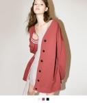 [SEEK] Oversize Knit Cardigan Jacket