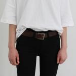 Macaron leather belt(소가죽)