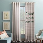 Pencil Point Curtain