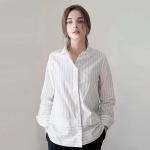 Layered Shirt - White Stripe