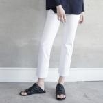 S/S Pencil Pants - White