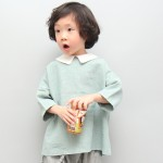 배색플랫카라셔츠  (2 colors)