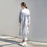 Robe Coat - Blue Stripe