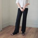 SS Wide Leg Pants - Black