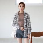 Casual cool check shirt