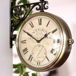 앤틱 양면시계
