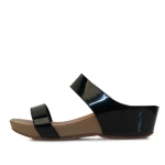 kami et muse Enamel band comfort middle wedge slippers_KM17s168