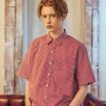Unisex Flit Line Shirt-Red