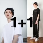 [1+1 페퍼시즈닝] 루즈핏 베이직 티셔츠