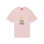 [SS16 Simpsons] Skater Bart S/S Tee(PINK)_(536248)