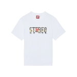 [SS16 Simpsons] Simpsons Friends Stereo S/S Tee(WHIT_(536250)