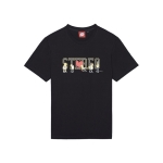 [SS16 Simpsons] Simpsons Friends Stereo S/S Tee(BLAC_(536251)