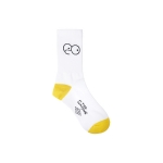 [SS16 Simpsons] Blinking Eyes Pointed Socks(WHITE)_(536283)