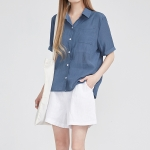 roll up half sleeve shirts (3 colors)_(597292)